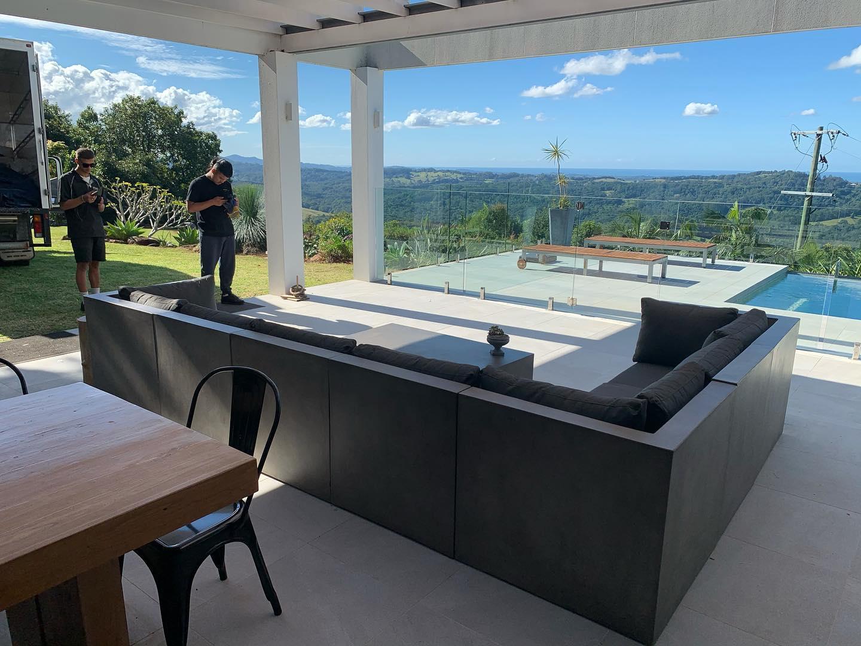concrete outdoor setting